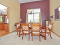 Dining room large enough for a big table for all your family & friends