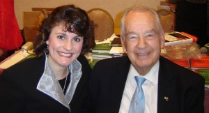 Felicia Slattery and Zig Ziglar