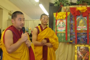 Tibetan Monks and Free Speech