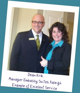 Dean Kirk Embassy Suites Customer Service
