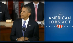 Obama Jobs speech analysis for speakers