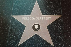 Not Quite on Hollywood's Walk of Fame, But a Girl Can Dream!