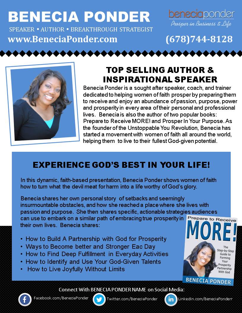motivational speaker flyer