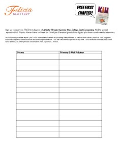 signature speech sign up form