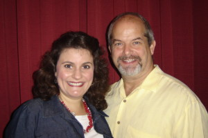 Felicia Slattery and Paul Taubman