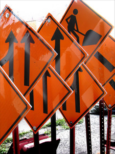 how to communicate with customers during construction