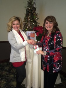 ATD Smoky Mountain Chapter Throw Down Winner Felicia Slattery Receives $100 Visa Gift Card from President Cindy Light